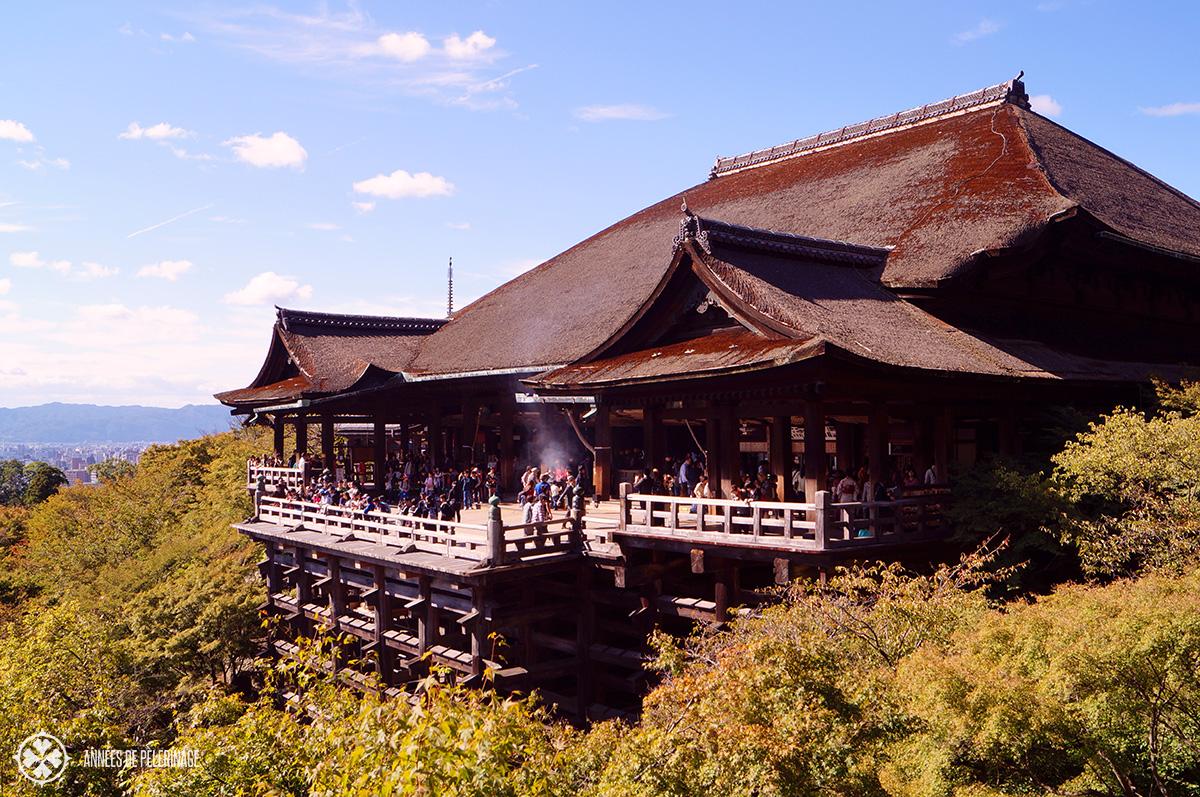 Kiyomizu-dera - Kyotos most beautiful temple
