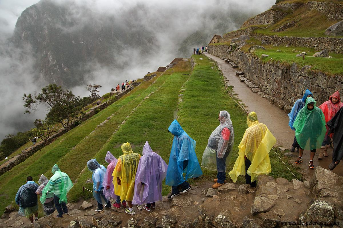 an overnight trip during the wet monsoon season