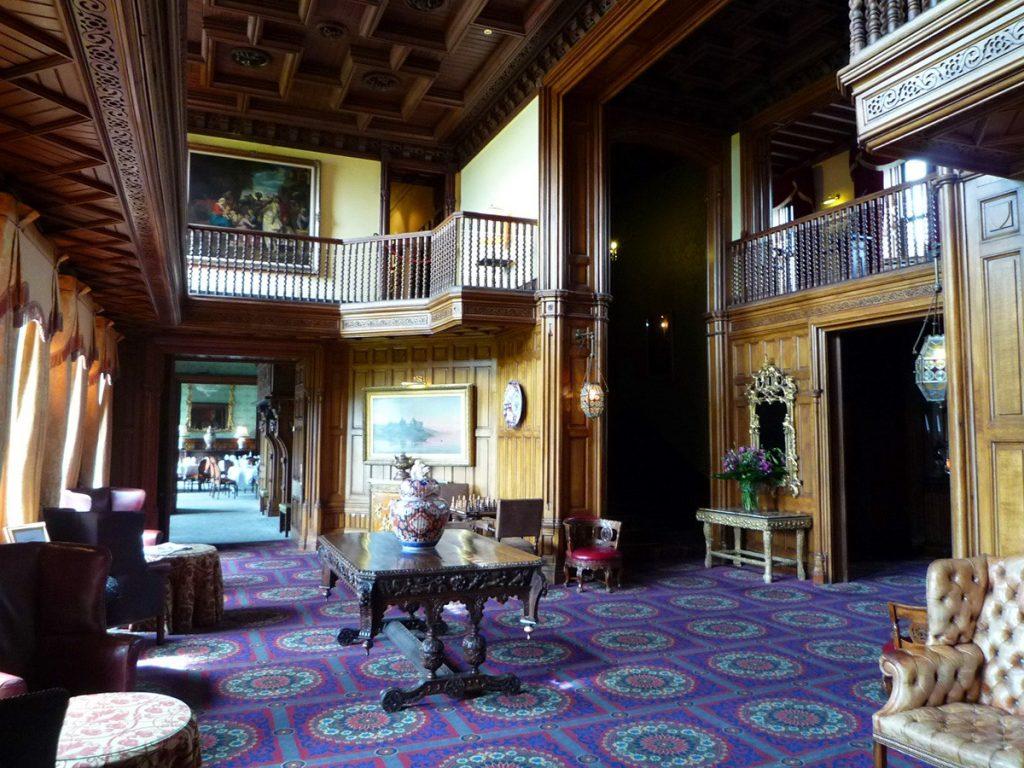 Lobby of Ashford Castle Ireland