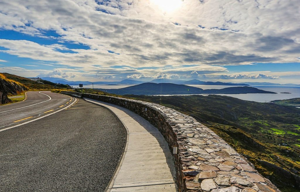 Caherdaniel Viewpoint on the Ring of Kerry, Ireland