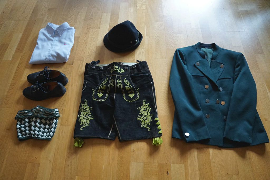 An authentic otkoberfest outfit for men