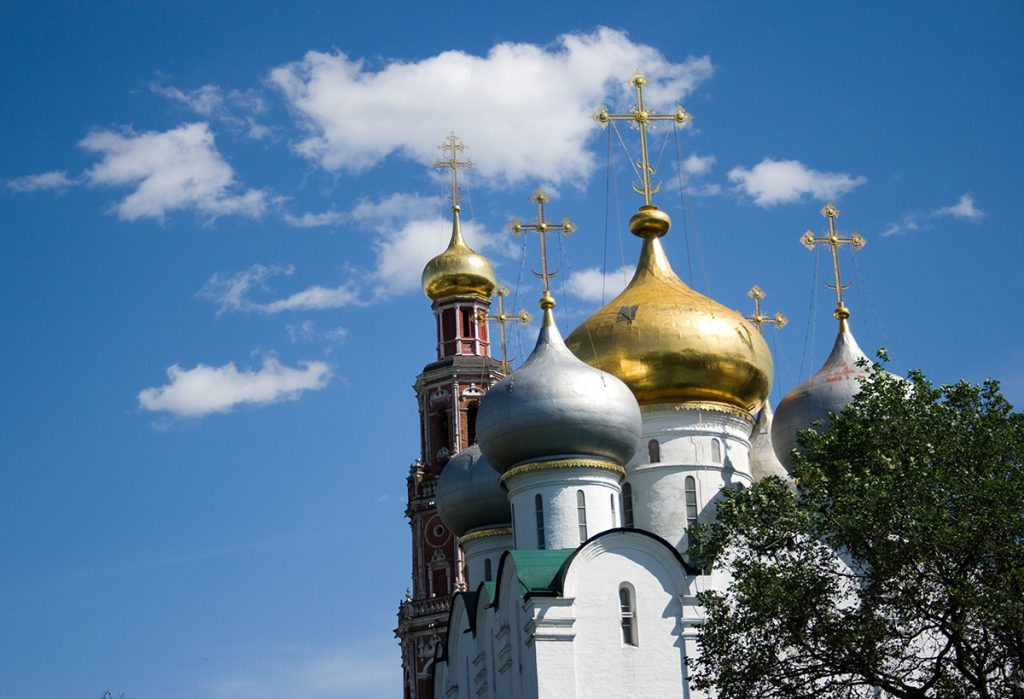The Novodevichy Convent in Moscow Russia
