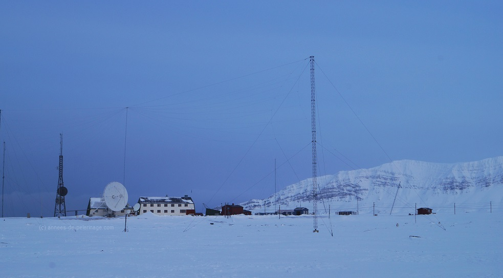 Another hotel in Spitsbergen: Isfjord Radio Station on the east coast