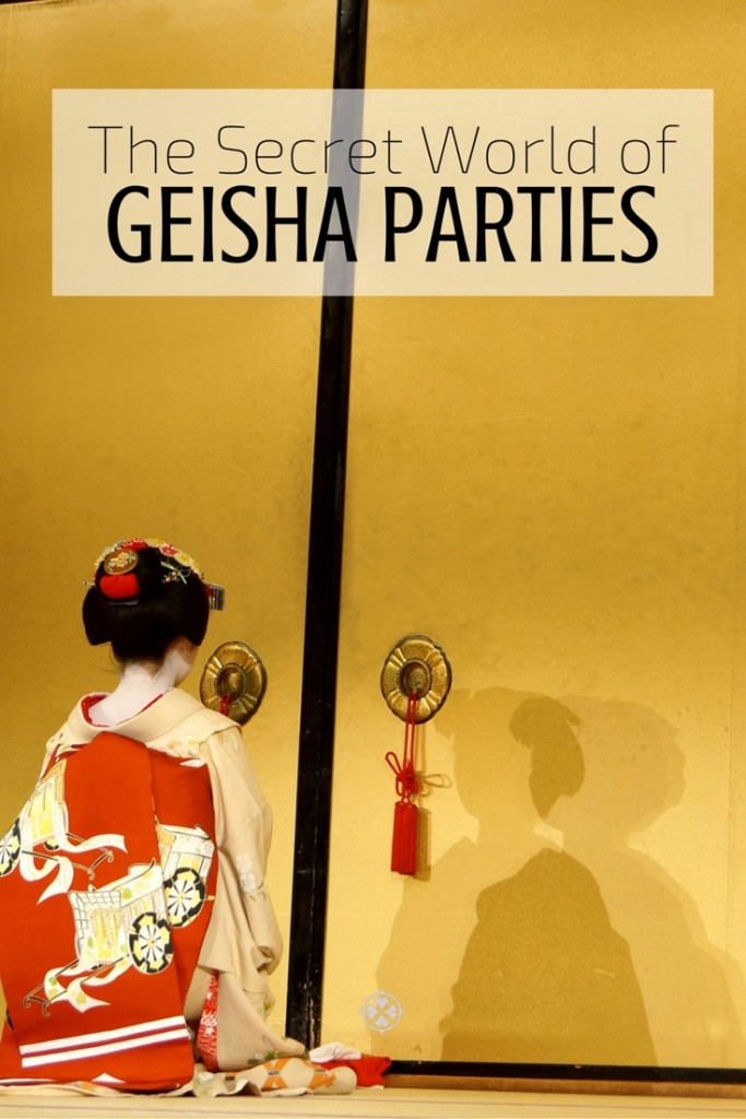 The secret world of geisha parties. A insider's report about Kyoto's mysterious entertainers.