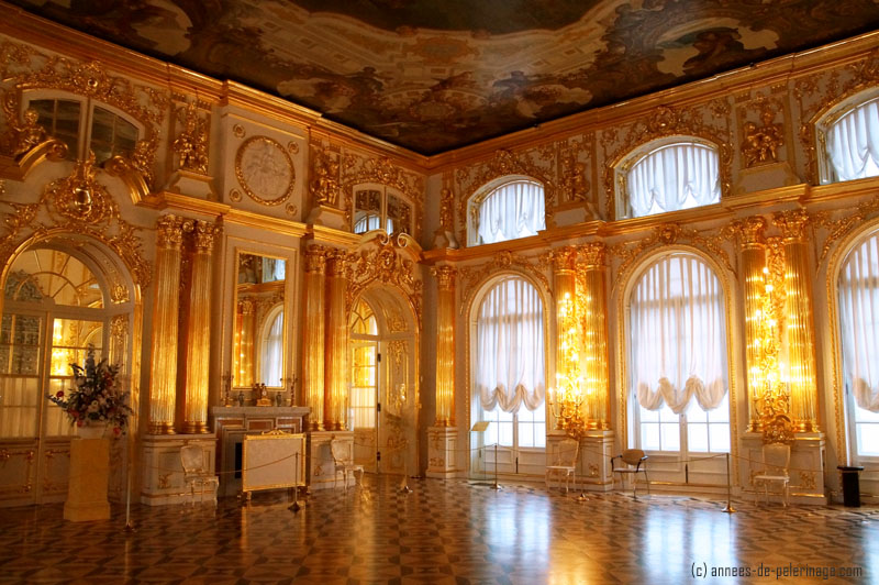 One of the ante chambres in the catherine palace in St. Petersburg