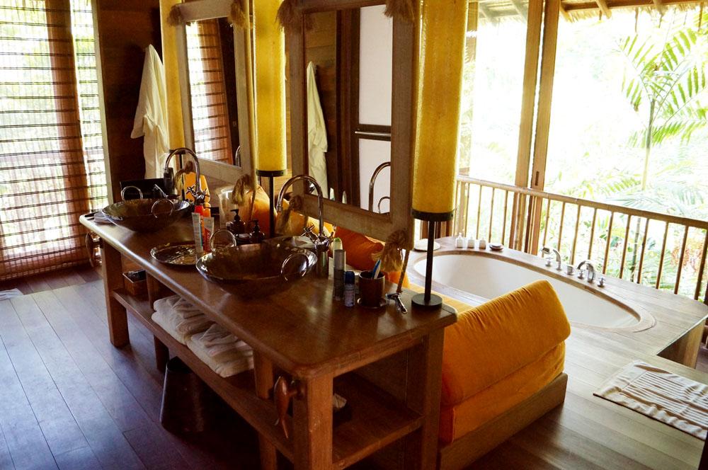 bath room at six senses koh yao noi