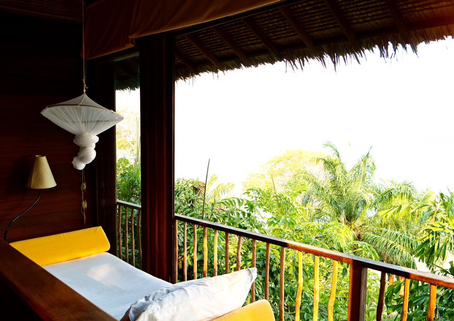 Single bedroom in six senses koh yao noi
