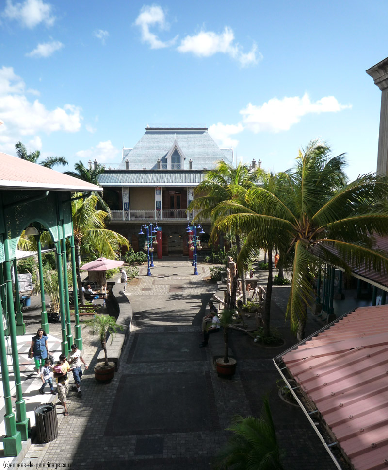The blue penny museum in Port Louis, mauritius