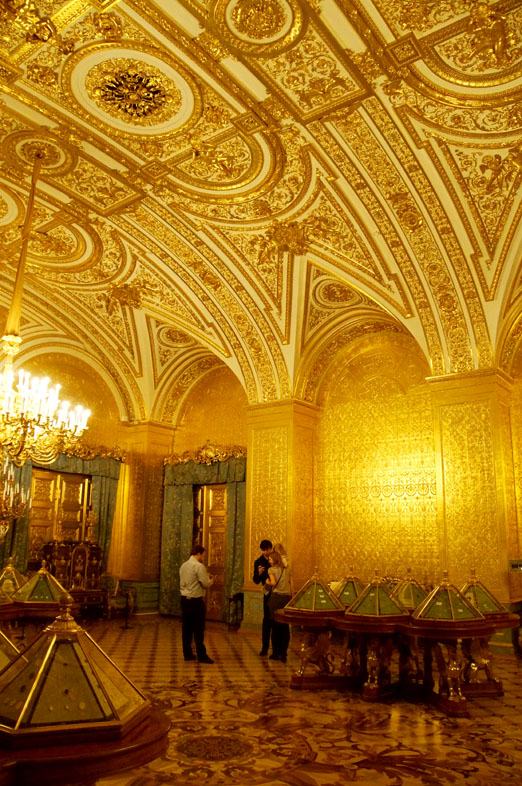 golden room at the hermitage museum st. petersburg