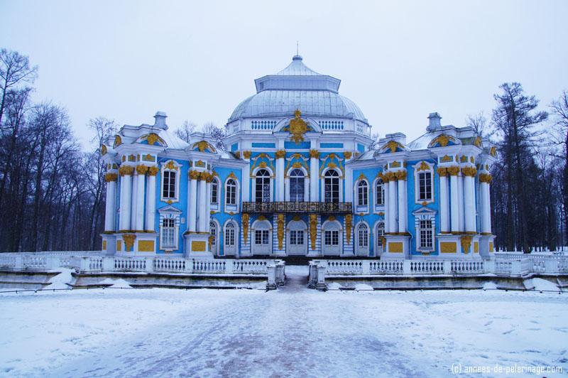 The Hermitage in Catherine Park in Pushkin, St. Petersburg
