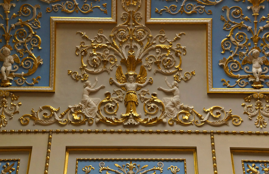 stucco detail state hermitage museum st. petersburg