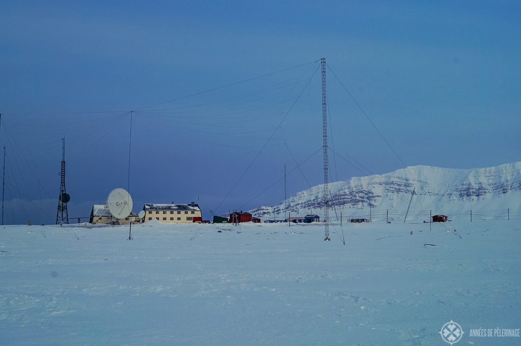 The Isfjord Radio Station on SPitsbergen