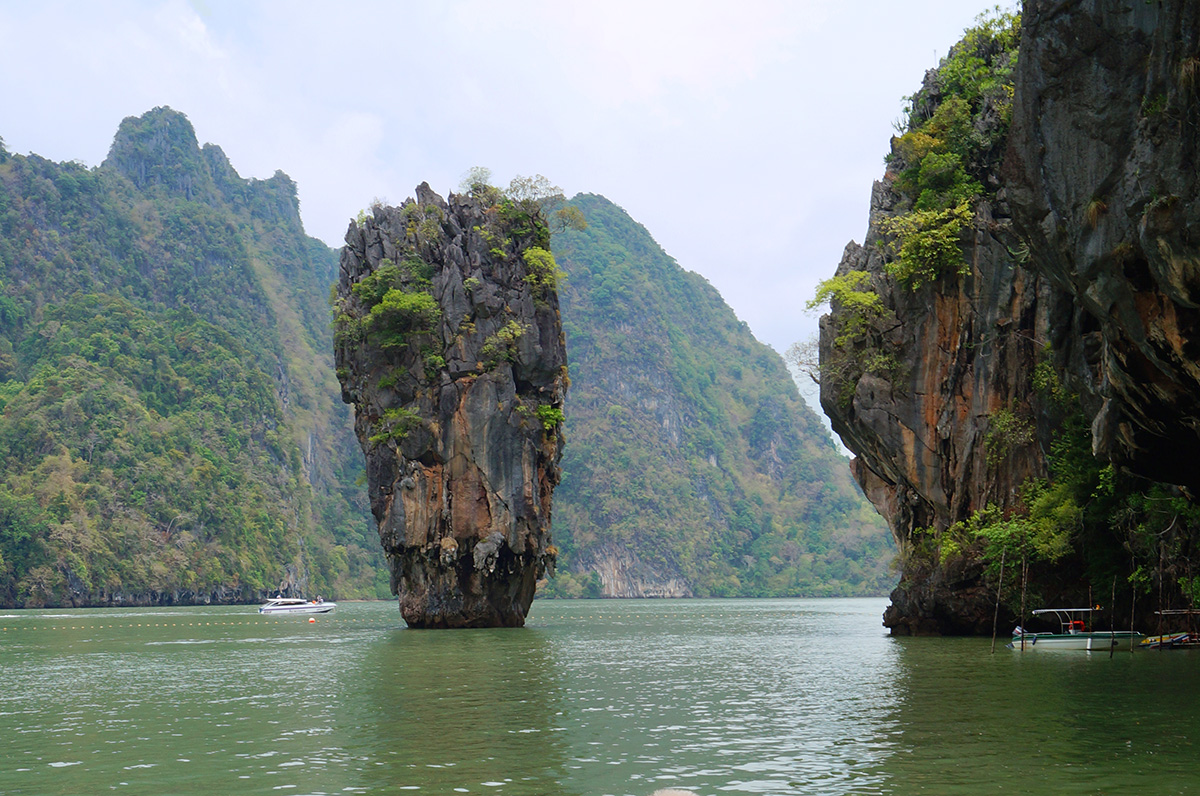 Take a vacation in Khao Phing or James Bond Island