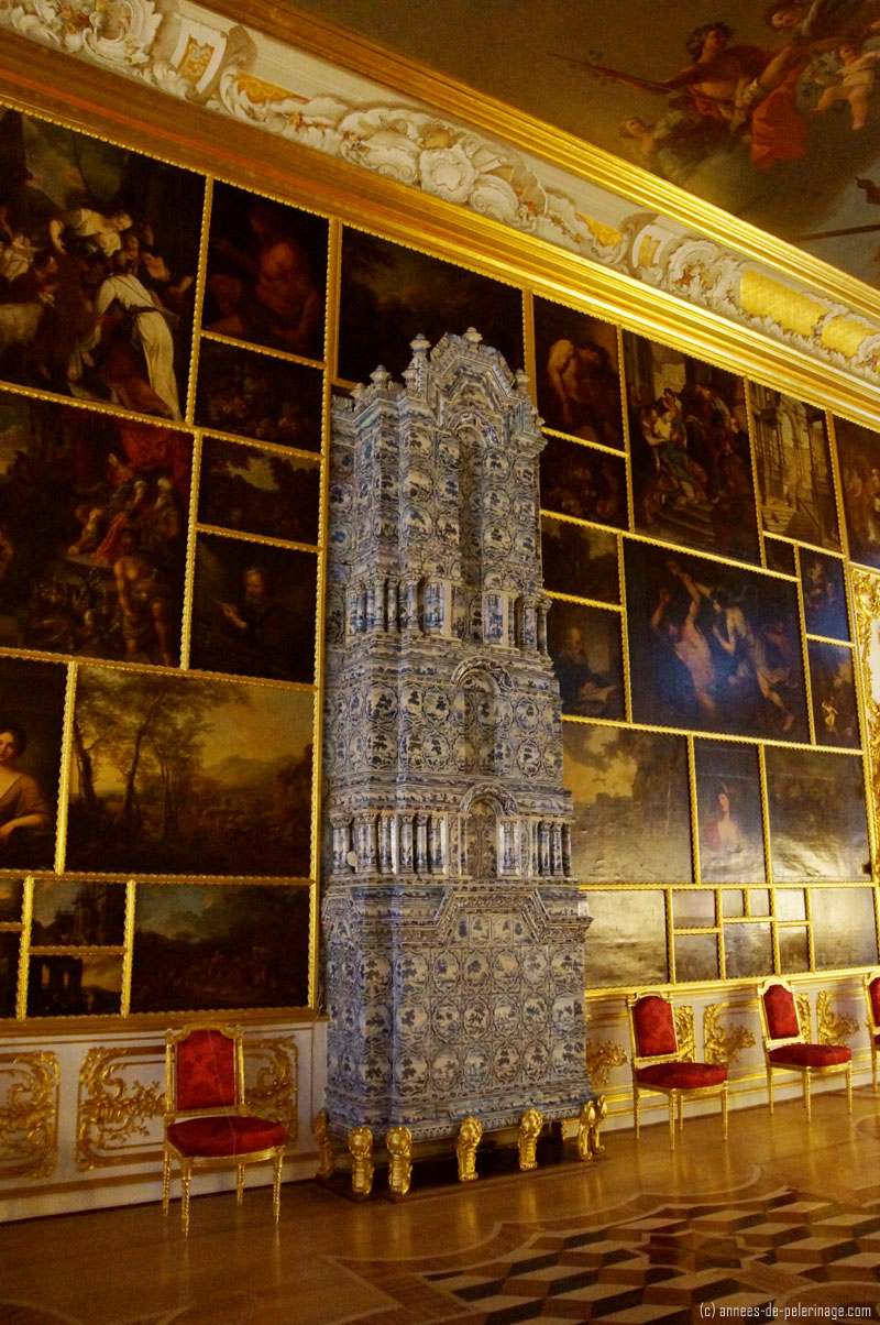 The picture hall at Catherine Palace in Pushkin, St. Petersburg
