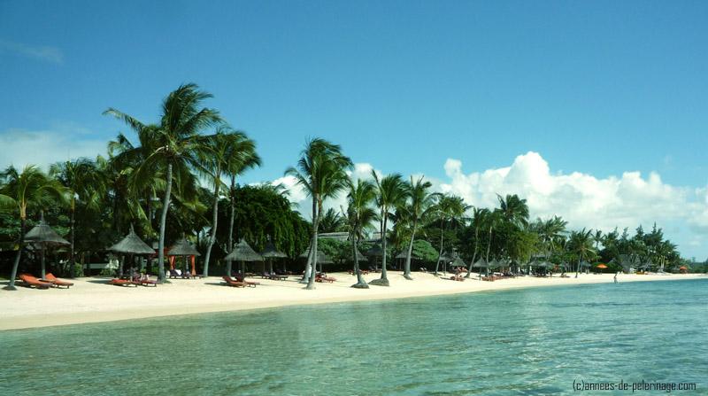 white beach mauritius