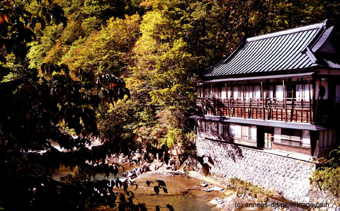 the old Ryokan of Takaragawa-onsen - the best onsen in Japan