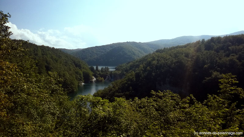 Overview on Plitvice Lakes National Park in Croatia