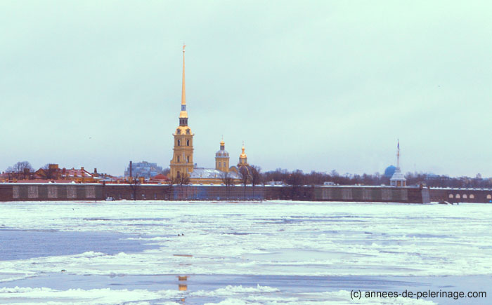 The peter and paul fortress st petersburg russia