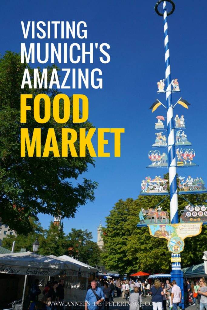 Visiting Munich's amazing gourmet food market. The so called Viktualienmarkt is located in the city center of Bavaria's capital and one of the main attraction of the city. click for more.
