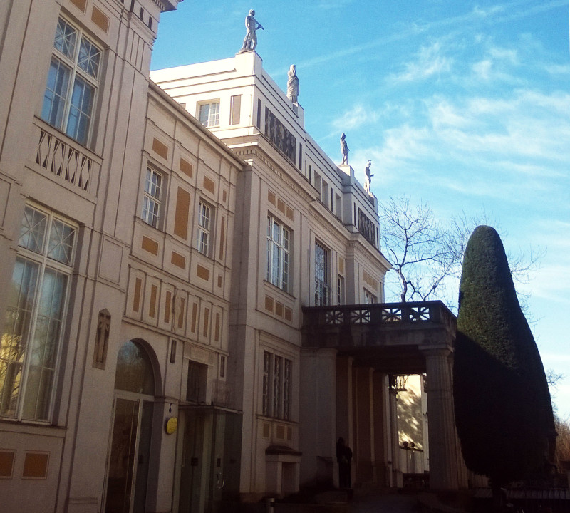 The neoclassic museum Villa Stuck in munich