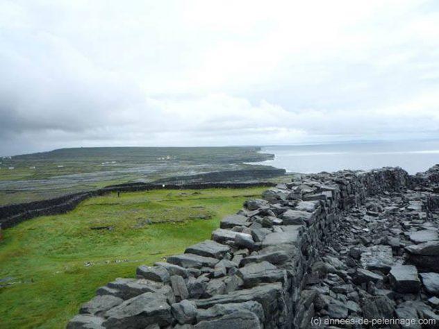 Dún Aonghasa on Inishmore Aran island
