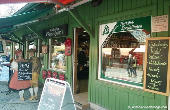 butchers at viktualienmarkt munich