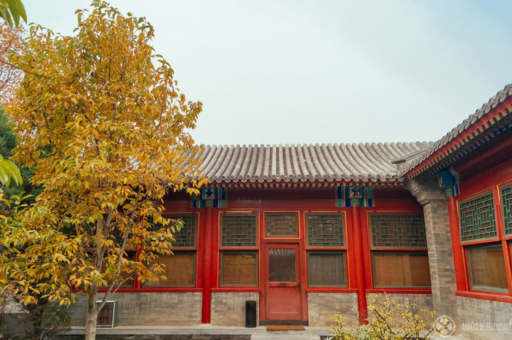 Entrance of a courtyard suite at Aman at Summer Palace Beijing, China
