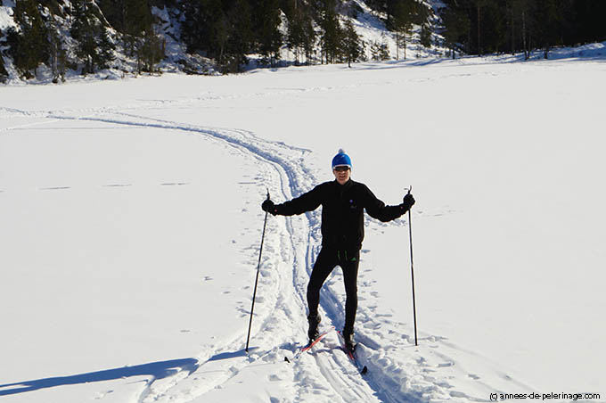 cross-country skiing in oslo Winterpark - one of my favorite things to do in Oslo