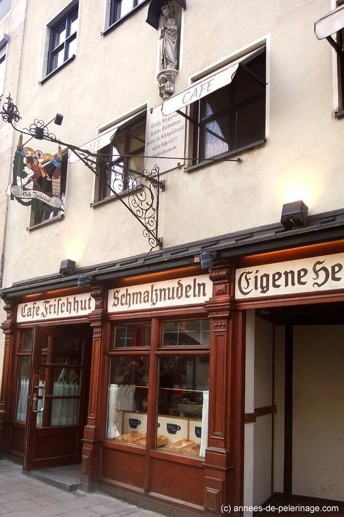 Cafe Frischhut - an insider tip at viktualienmarkt munich