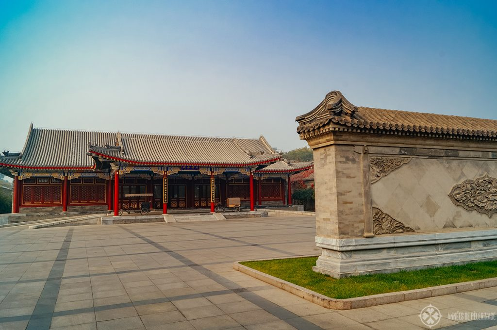 View of the lobby of theand a detailed Aman at Summer Palace review