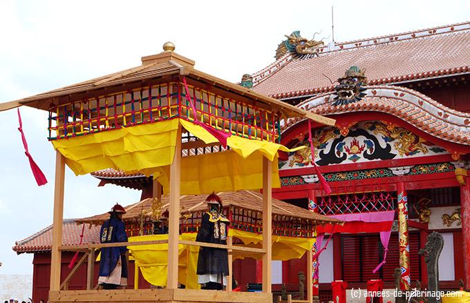 shuri castle festival enthronement ceremony of Ryukyu Kings