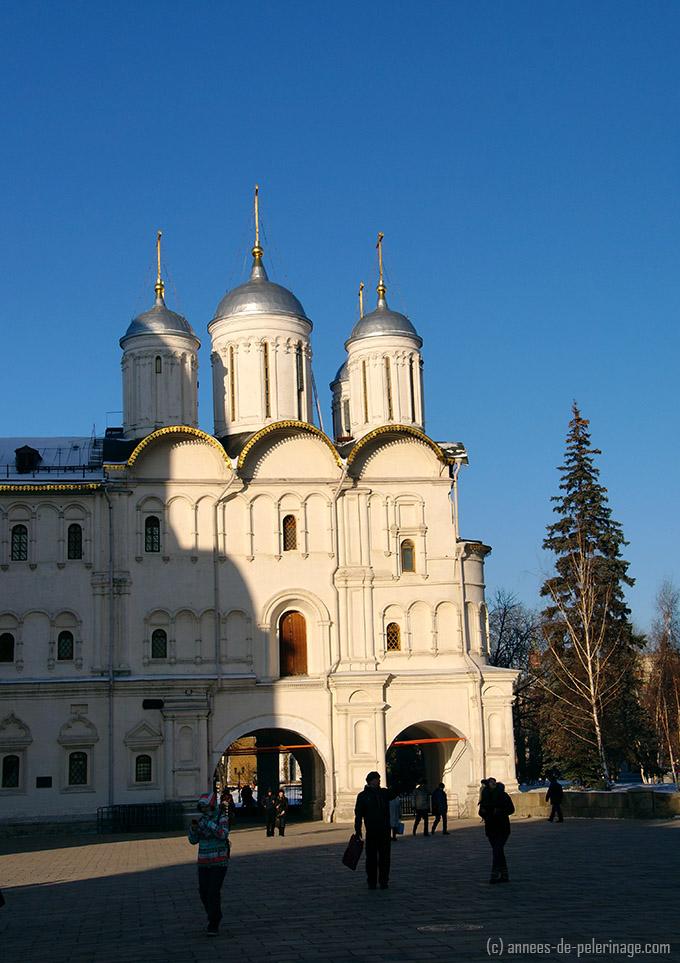Church of the Twelve Apostles inside kremlin moscow