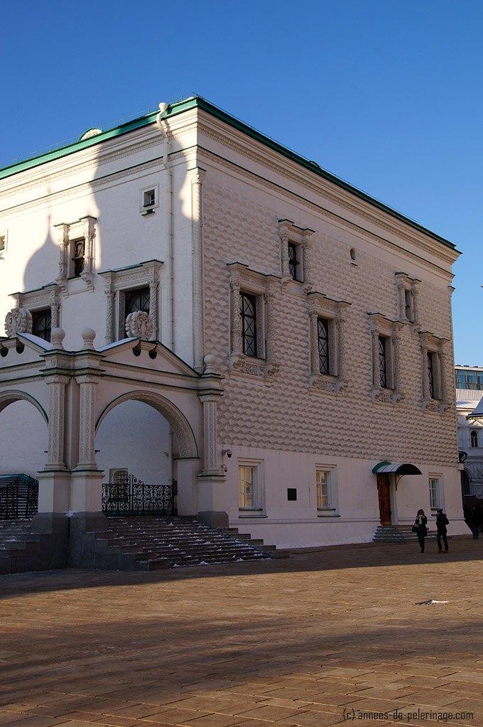 The Palace of Facet - the oldest building inside Kremlin