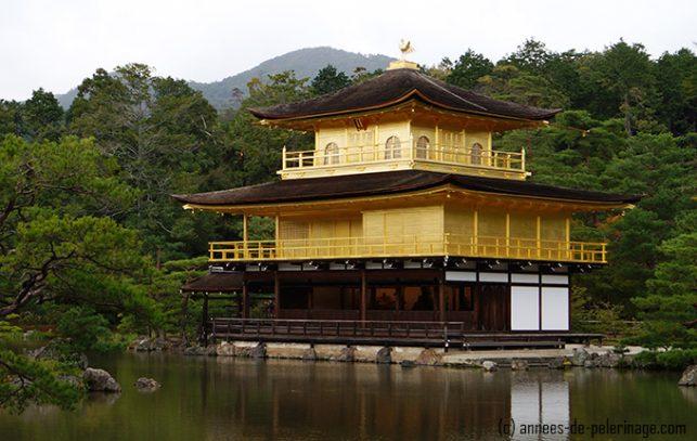 The golden pavilion - kinkaku-ji