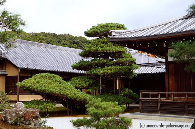 The former living quarters of the head priest at the golden pavilion of kinkaku-ji
