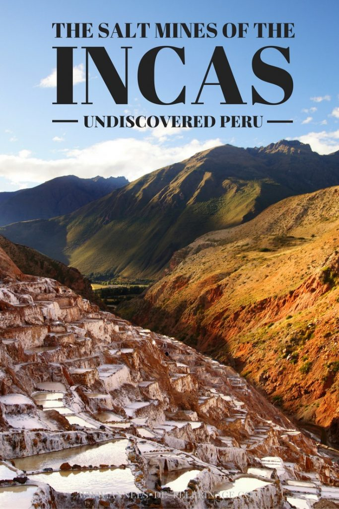 The salt mines of the Inca can be found near the town of Maras in Peru. Hardly any tourist comes here. Yet they are one of the main attractions in the Sacred Valley. If you are looking for alternatives to Machu Picchu, click here.
