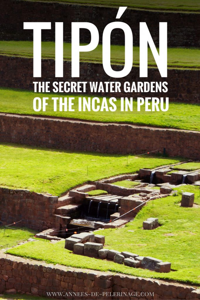 Tipón, Peru, is an astonishing archeological complex from the 15th century. It is often called the Water Gardens of the Incas and makes for excellent day trip from Cusco. Click for more information.