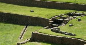 Tipon peru - The amazing water gardens of in the Inca near Cusco