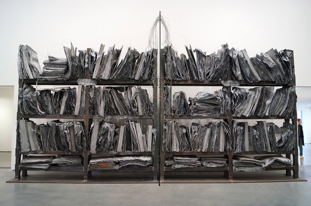 Anselm Kiefer gigantic metall installation zweistromland at the astrup fearnley museum oslo