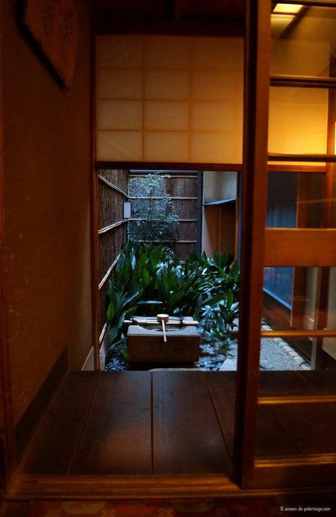 little courtyard tawaraya ryokan kyoto
