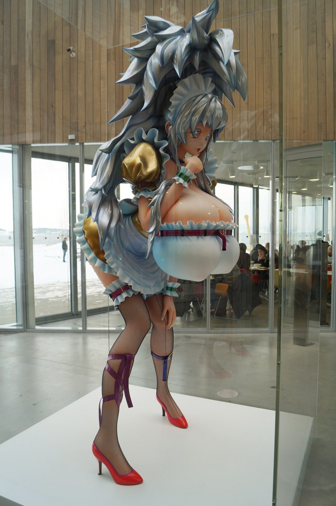 takashi murakami 3-meter girl at astrup fearnley museum