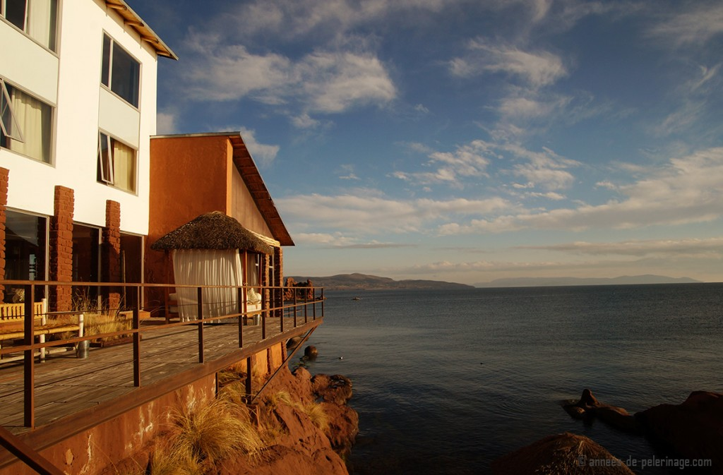 Lake titicaca luxury hotel puno peru