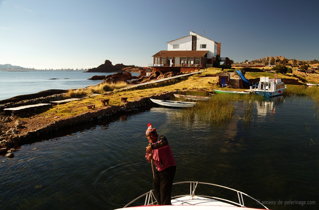A luxury guided tour starting from Titilaka Lodge in Puno Peru to explore Lake Titicaca