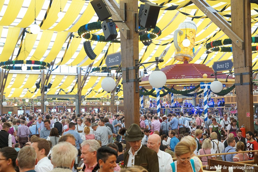 Inside a beer tent at Oktoberfest with quite a crowd  sc 1 st  Annees de pelerinage & Oktoberfest 2019 - Dates History hotels u0026 everything you need to know