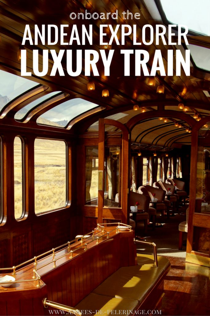 Onboard the fantastic Andean Explorer luxury train. One of the best train journeys in the world. Click for the full story.