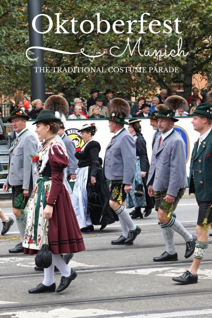 The grand traditional custom parade trachten und schützenzug in munich