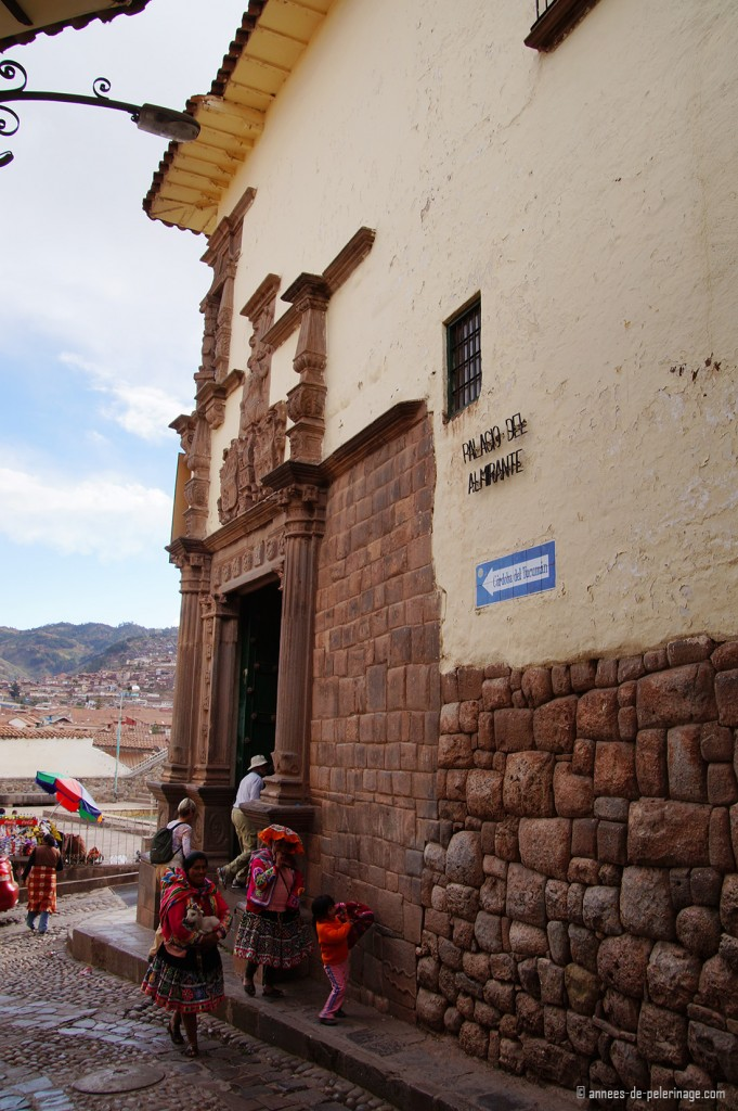 The Museo Inka in Cusco Peru seen from outside