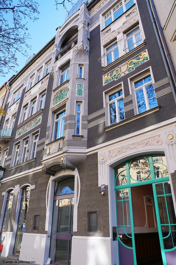 Art Nouveau apothecary at Franz-Joseph-Strasse 19 in Munich