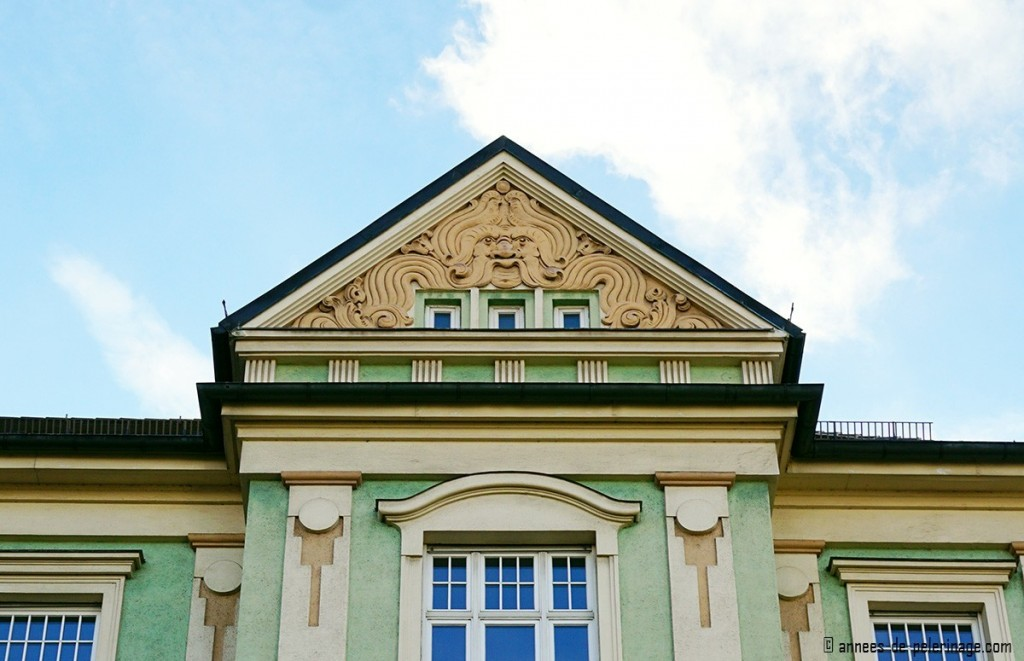 Art Nouveau house at Ismaninger Strasse 98 in Munich