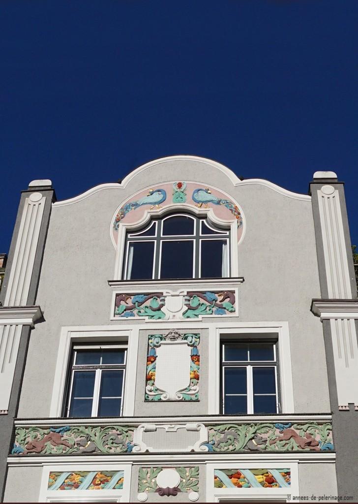 Art Nouvea house near the Leopoldpark in MUnich